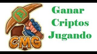 CRYPTOMININGGAME OCTUBRE 2019 ..Gane Criptos Jugando!!!! 💰