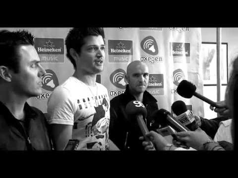 The Script: Backstage at Oxegen Festival - 동영상