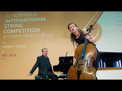 Anastasia Kobekina's Preliminary Round at the 2018 Schoenfeld International String Competition