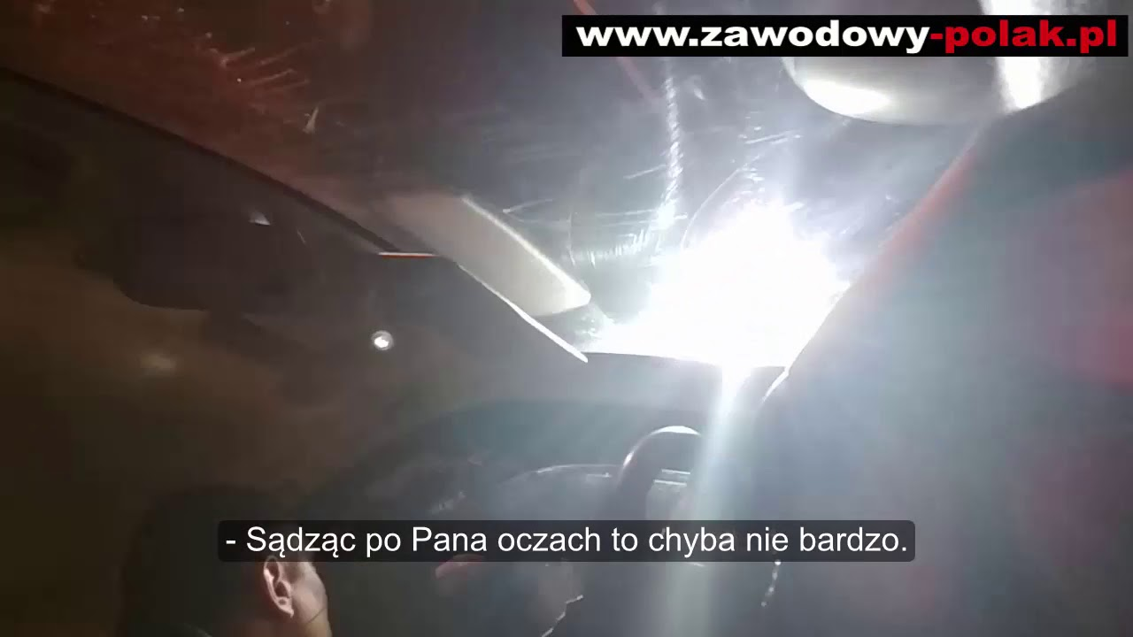Kontrola funkcjonowania POLICJI przez zwierzchnika władzy Trzebiatów 14.12.2018 r ( napisy)
