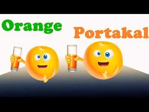 ilköğretim İngilizce Çocuk Şarkıları  english song sebze meyveler Vegetable fruit