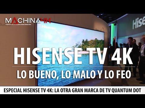 Televisores Hisense 4k : Lo Bueno, Lo Malo Y Lo Feo De La Otra Gran Tv Con Quantum Dot