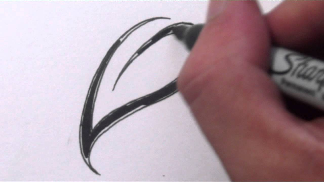 Uncategorized Simple Leaf Drawing how to draw a simple leaf tribal tattoo design style youtube