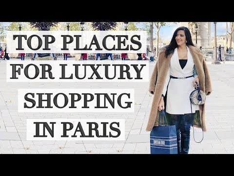 Top Places for Luxury Shopping in Paris! Come with me! Ericas Girly World