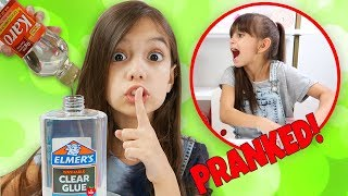 I Switched all the Slime Ingredients! Emily Cheated AGAIN! SLIME PRANK! | Emily and Evelyn