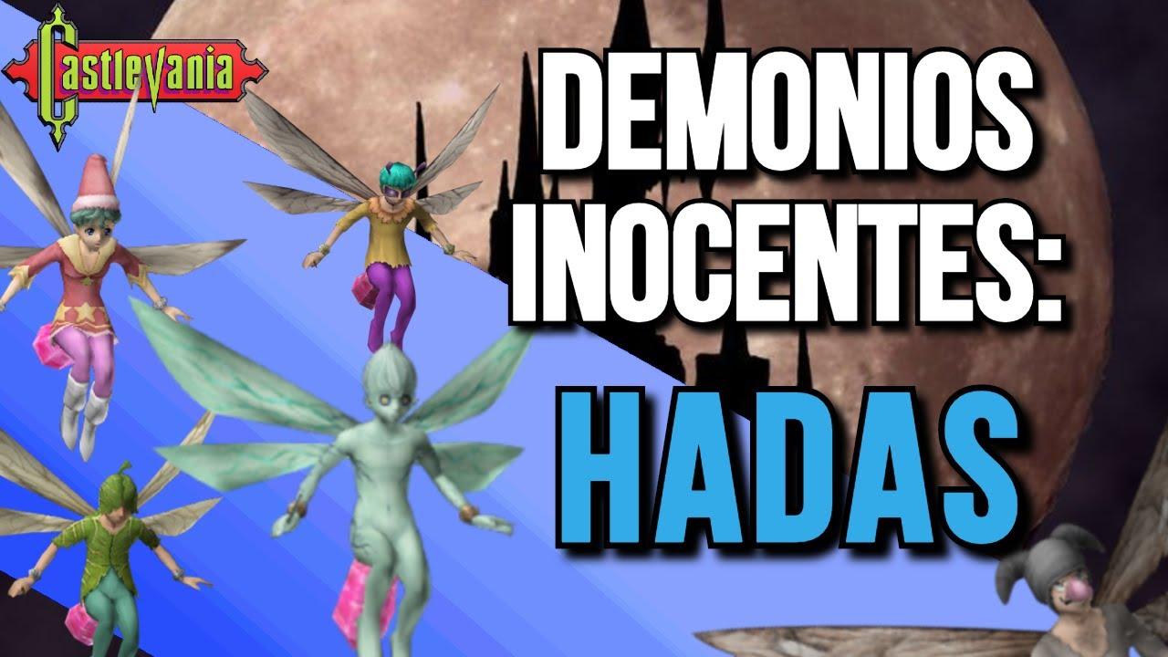 Demonios Inocentes: Hadas - Curiosidades   Castlevania