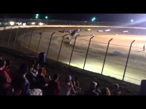 Terry Babb, Sprint Car Race, Clay County Speedway, 8/25/12