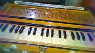 Bhagwan hai kaha re tu ... on harmonium learning