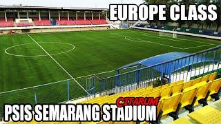 Pemasangan Rumput Stadion Citarum Homebase  PSIS Semarang setelah Stadion Jatidiri Update Renovasi