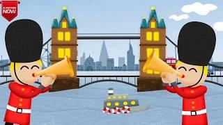 London Bridge Is Falling Down | Nursery Rhymes for Kids - Popular Baby Songs