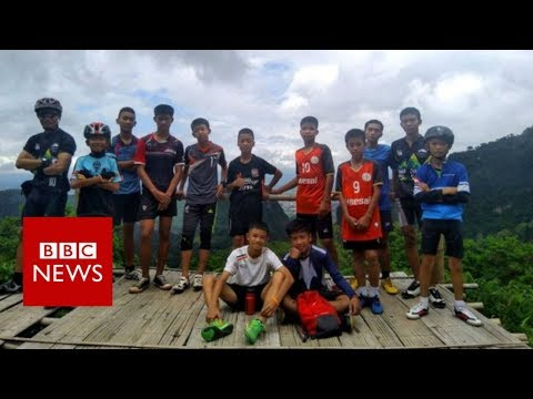 Missing Thai boys 'found alive' in caves- BBC News
