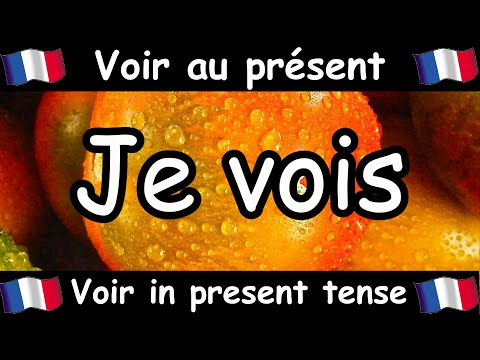 VOIR (To See) Conjugation Song - Present Tense - French Conjugation - Le Verbe VOIR