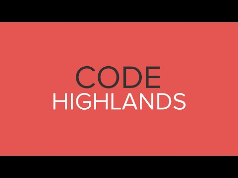 Introducing Code Highlands