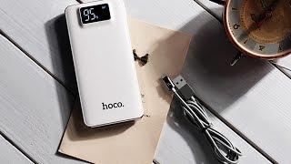 Power bank (внешний аккумулятор) Hoco 10000 mah. Лучший внешний аккумулятор 2017