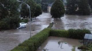Inondations au Luxembourg