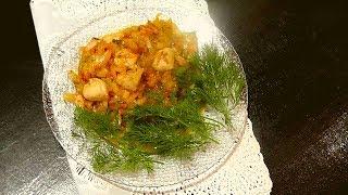 Один из способов приготовления  рагу из молок лососевых рыб