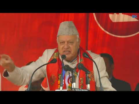 Kashmiris won't be suppressed by force: Farooq Abdullah to New Delhi