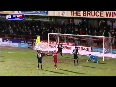 Crawley Town vs Stevenage - League One 2013/14