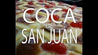 Coca de San Juan +  Crema Pastelera
