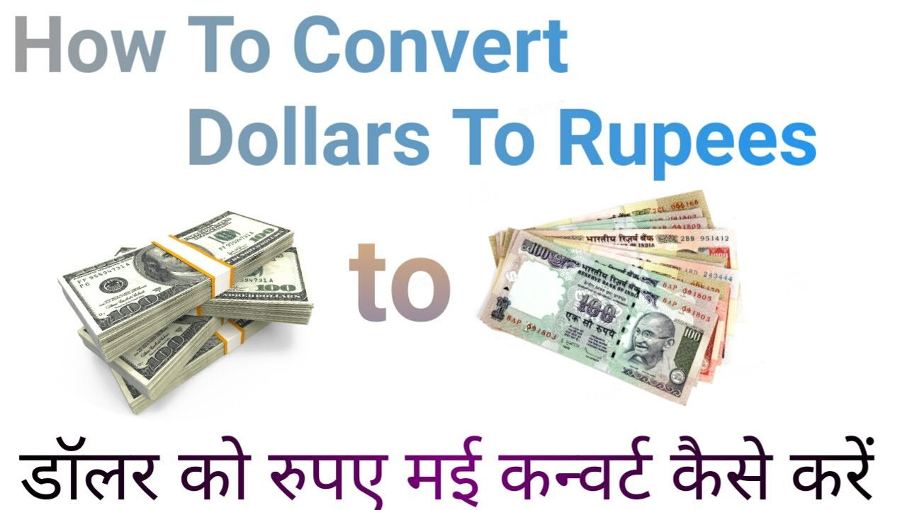 Convert Rupies To Dollars Currency Exchange Rates