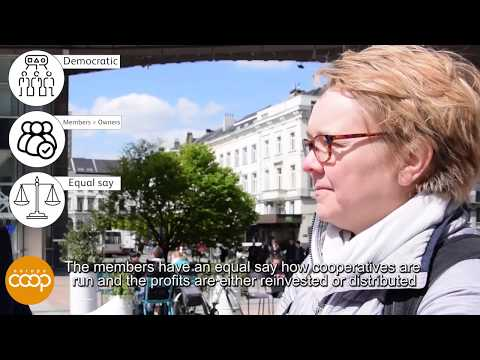 Have you heard about COOPERATIVES?   Street Interview   Cooperatives Europe