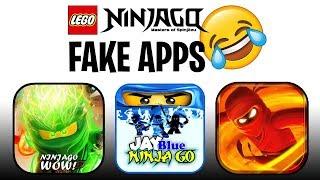 I tried playing the *WORST* Fake LEGO Ninjago Games (Apps)