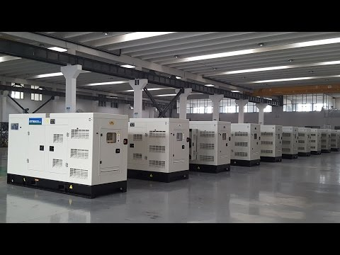 View of Ettes Power Silent Sopundproof Canopy Diesel Engine Generator Set Ettespower
