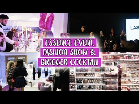 ESSENCE EVENT, FASHION SHOW & BLOGGER COCKTAIL - Wochenvlog // Life with Smarti