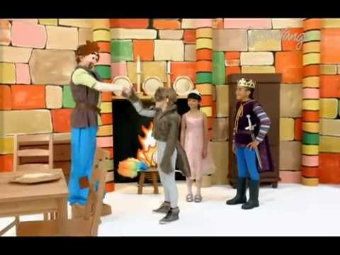 Uriasul singuratic - Lumea povestilor Cartoonito