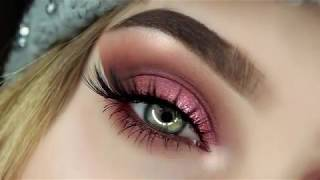 Half Cut Crease Make-Up Tutorial | Huda Beauty Desert Dusk ✨😱