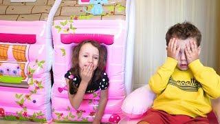 Peek a Boo Song | Ulya Pretend Play w/ Sing Along Nursery Rhymes