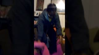 How A 3 Year Old Fights An 12 Year Old