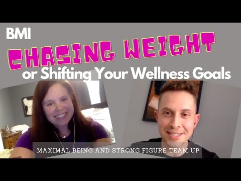 Chasing Weight, BMI or Shifting Your Wellness Goals, Body Dysmorphia Plus Tracking Sleep and Getting