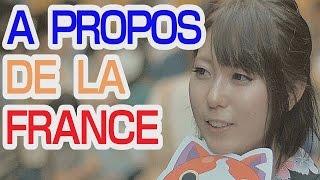 Comment les Japonais voient la France & les francais | Ask Japanese what they think of French people
