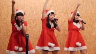 札幌のアイドル ミルクス(MILCS) さんです。 クリスマスなのでサンタコ...