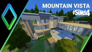 The Sims 4 - Building Mountain Vista