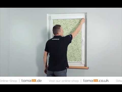 how to install duo cassette roller blind | toma24.eu