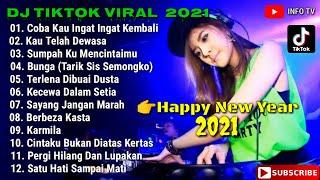 DJ TIK TOK VIRAL TERBARU 2021    DJ COBA KAU INGAT INGAT KEMBALI REMIX    HAPPY NEW YEAR 2021