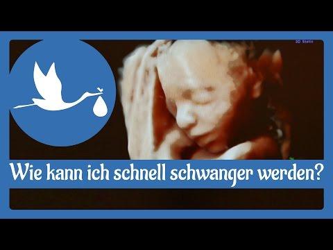 Schwangerschaft: Schnell schwanger werden!