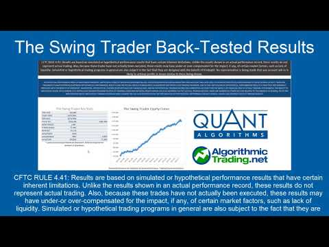 Algorithmic Trading Strategies Review: 8/9/17-4/24/18