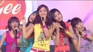 ... snsd (girl's generation) # 036 : had 'gee' stage at show! music core 20090214 generation)...