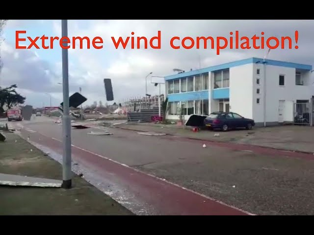 strong wind compilation (4.5m of pure force!)