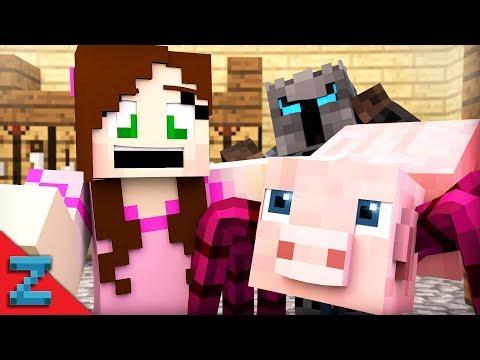 PopularMMOS SPIDER PIG! (Minecraft Animation)