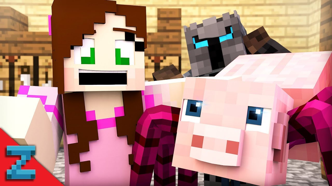 PopularMMOS SPIDER PIG! (Minecraft Animation)