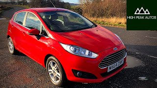 The FORD FIESTA is the PERFECT 1st CAR!