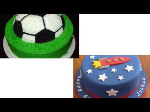 Украшение торта на годик.мальчику год.торт на год для мальчика.МК украшения торта