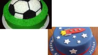 видео Торты на день рождения для мальчиков