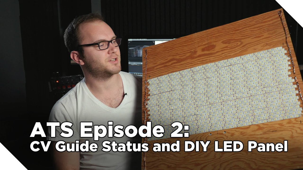 Around The Studio #2: Corporate Video Guide Update and DIY LED Panel!