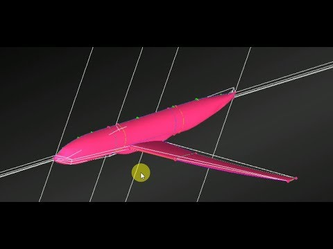 Lesson 9  - Part1-  ICEM CFD Aircraft Wing Body Meshing