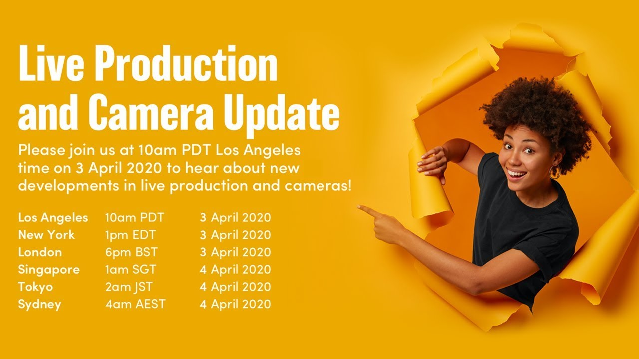 Live Production And Camera Update Youtube